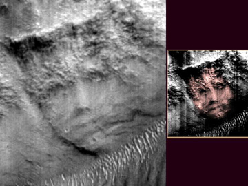 Crowned Face on Mars